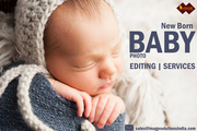 New Born Baby Photo Editing Services for Photographers